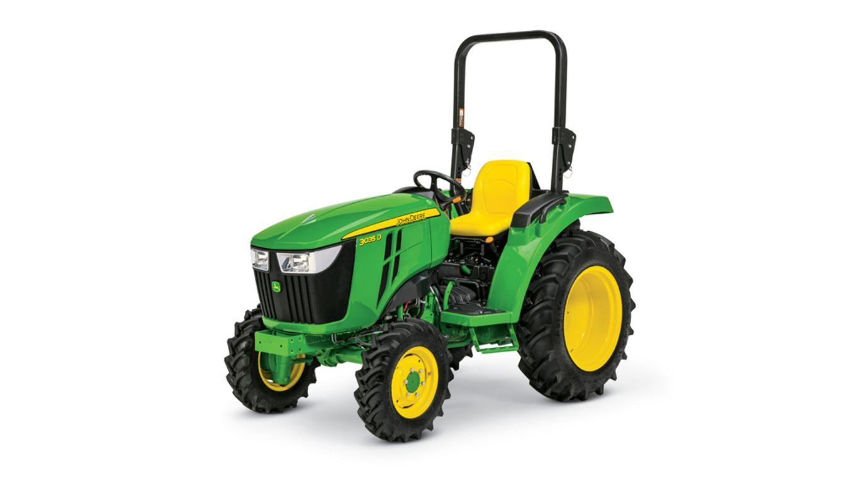 John Deere 3D Series Compact Utility Tractor